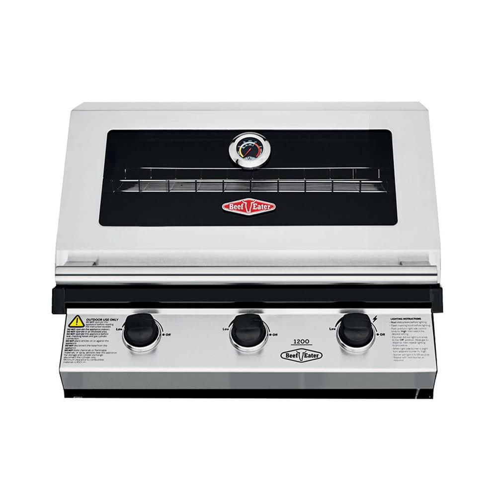 Beefeater 1200S Barbecue à gaz encastrable – 3 brûleurs