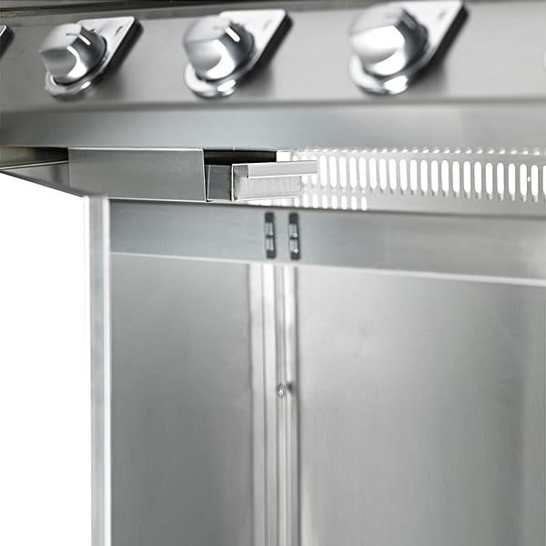 S3000 Barbecue à gaz BeefEater 5 Brûleurs – Surface de cuisson en fonte