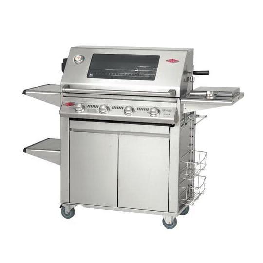 S3000 Barbecue à gaz BeefEater 4 Brûleurs – Surface de cuisson en acier inoxydable