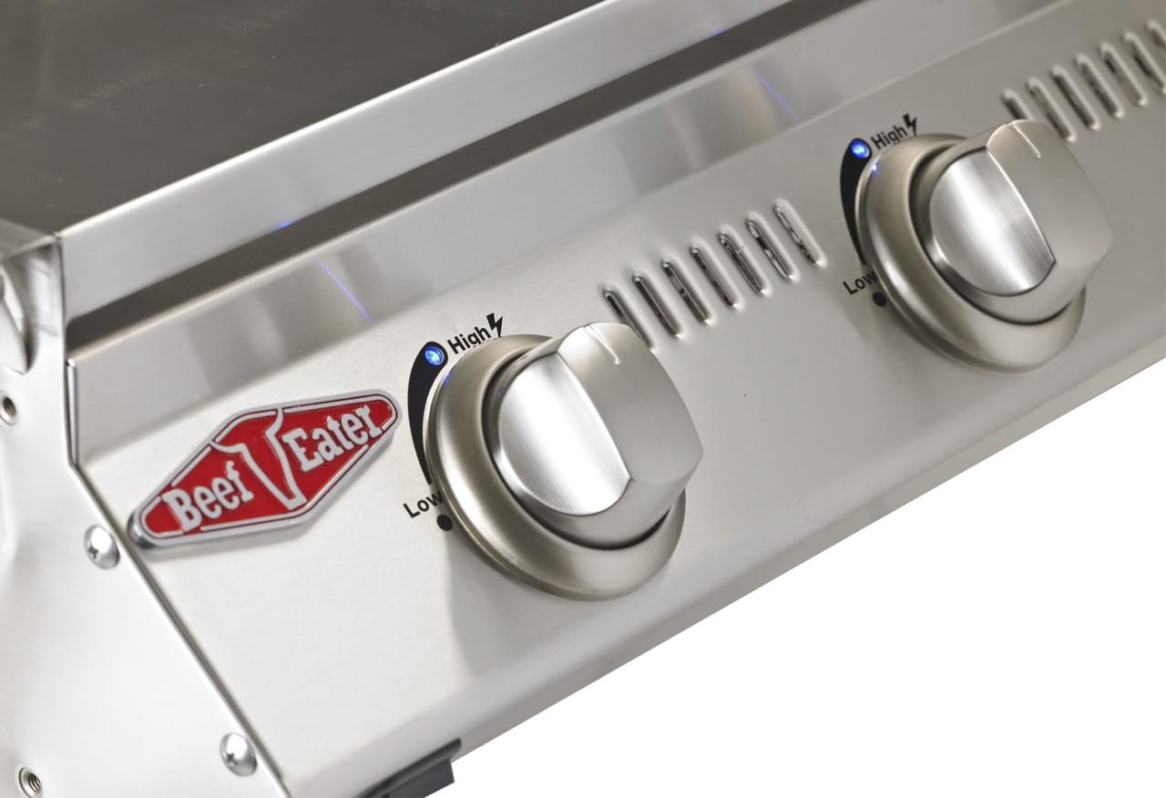 SL4000 acier inoxydable – Barbecue 6 Bruleurs avec chariot