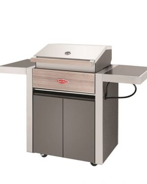 1500 Series – Barbecue 3 Bruleurs avec chariot