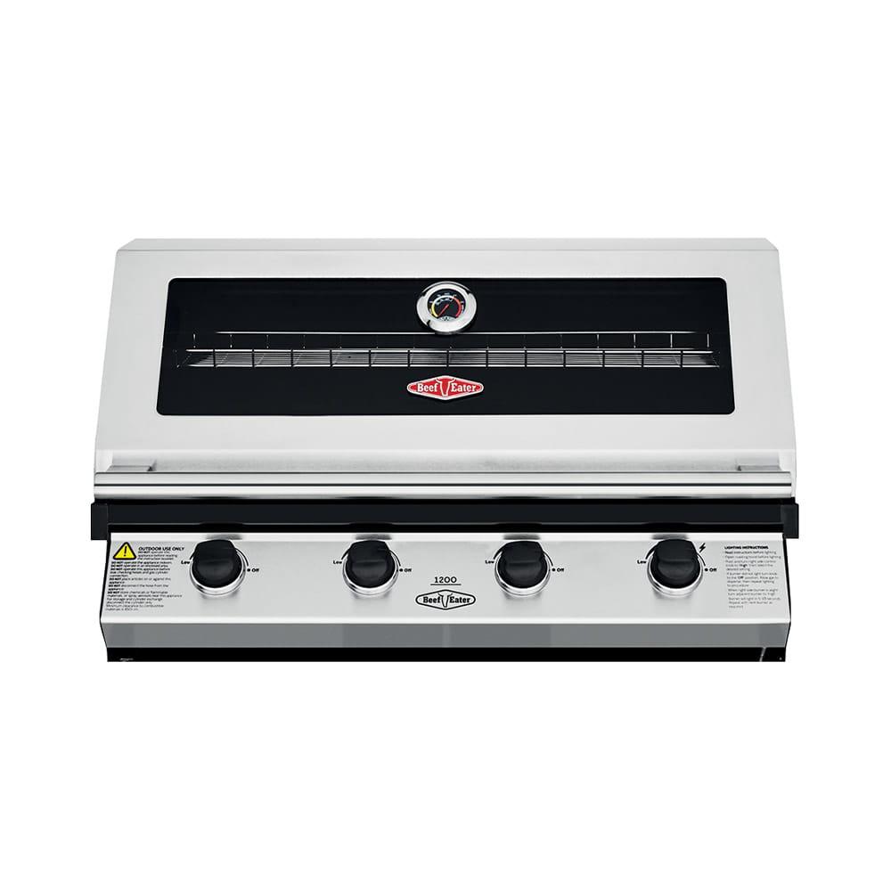 Beefeater 1200S Barbecue à gaz encastrable – 4 brûleurs