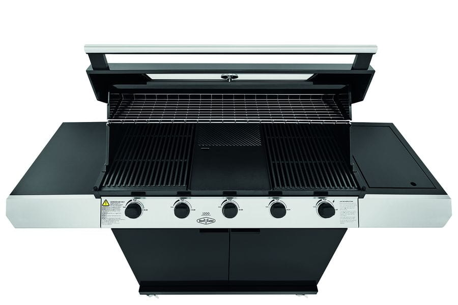 1200E Series – Barbecue 5 Bruleurs avec chariot