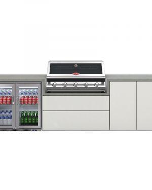 Cuisine Harmony 5 avec BBQ serie 2000 + réfrigérateur double