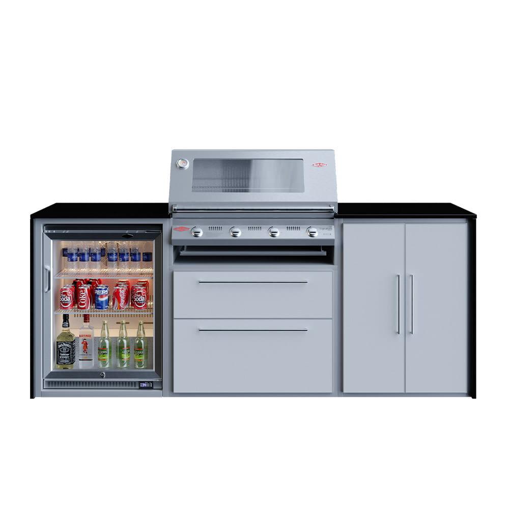 Cuisine Profresco 4 Trio 3000S avec réfrigéateur