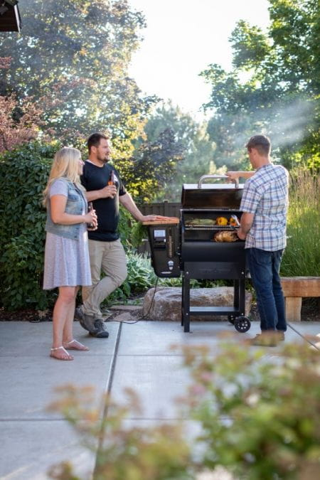 Woodwind wifi 24 barbecue Camp Chef