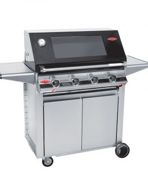 3000E Series – Barbecue 4 Bruleurs avec chariot