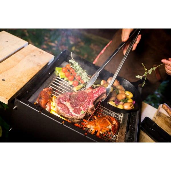 Barbecue multifonction Le Maitre rouille