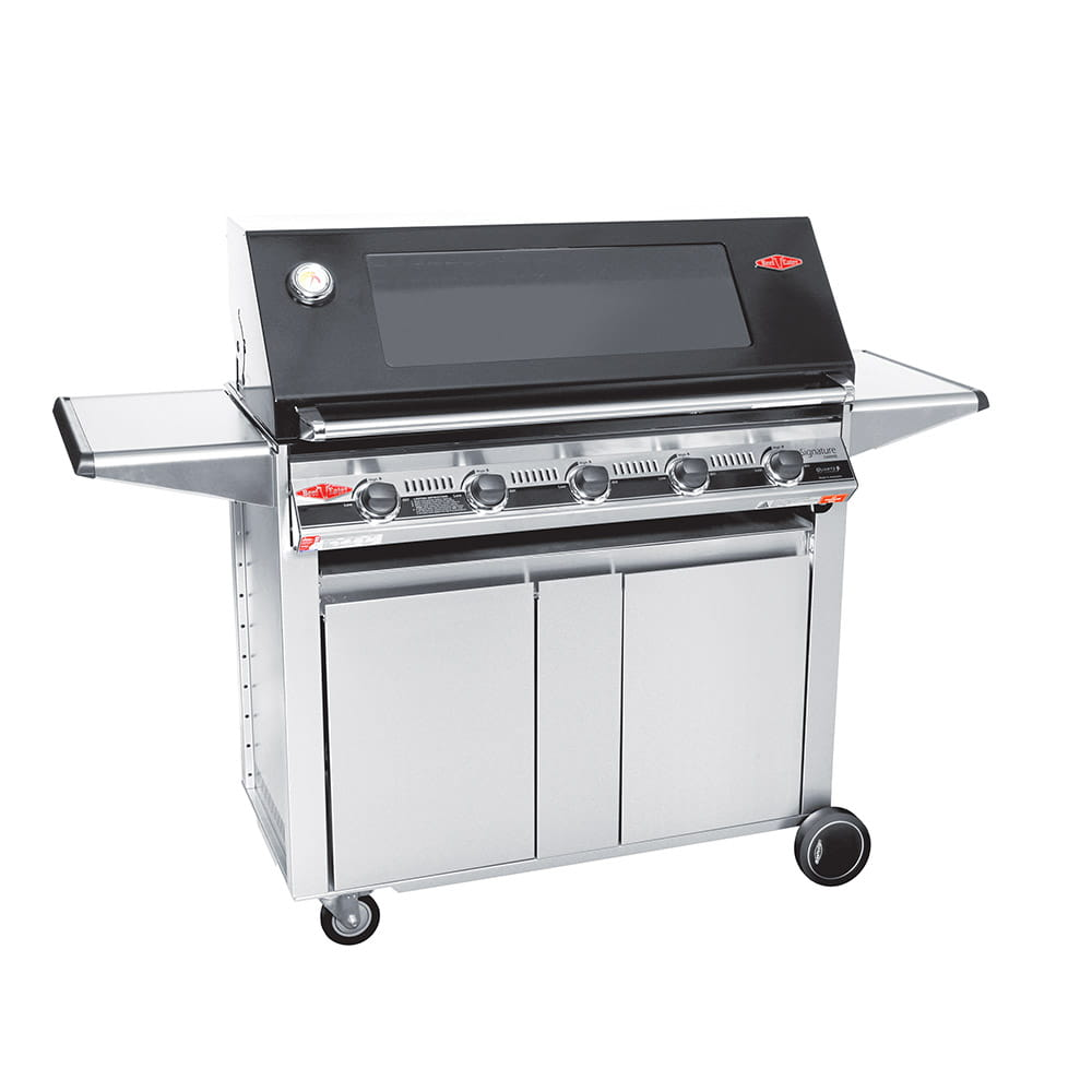 3000E Series – Barbecue 5 Bruleurs avec chariot