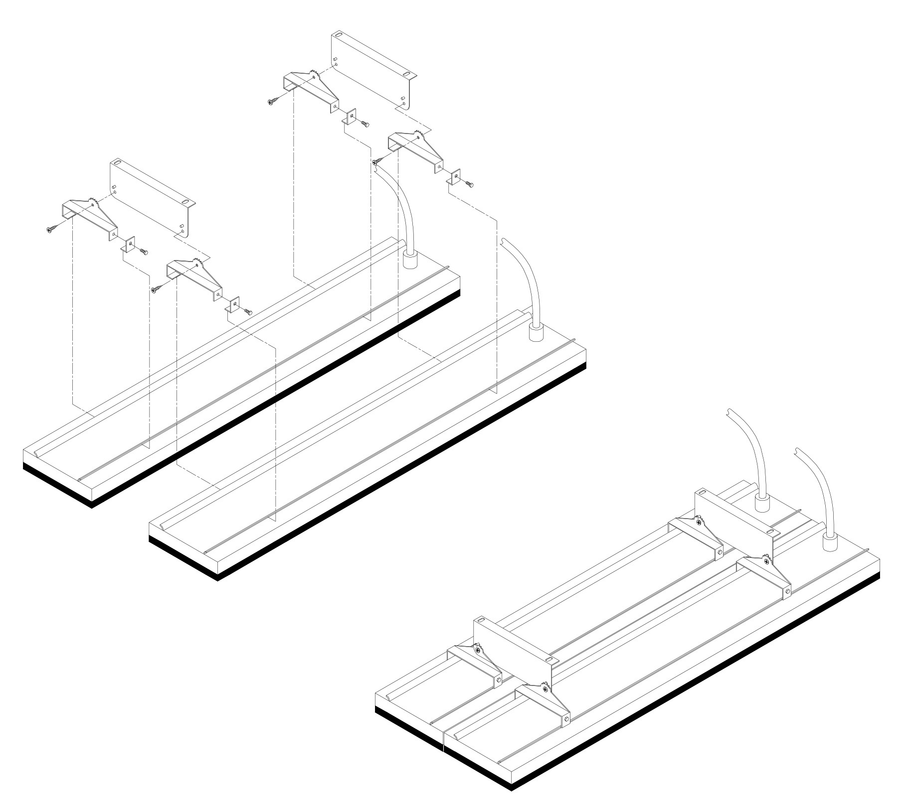 Kit montage double pour gamme THH (Design)